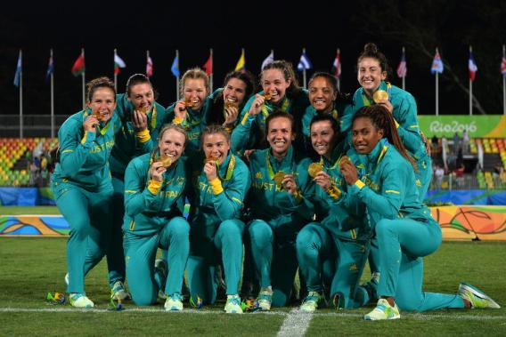 2016 Rio Rugby Olympics - Australia Champions!