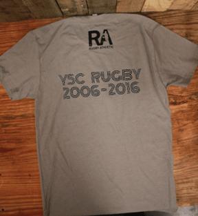Back of 10th anniversary shirt