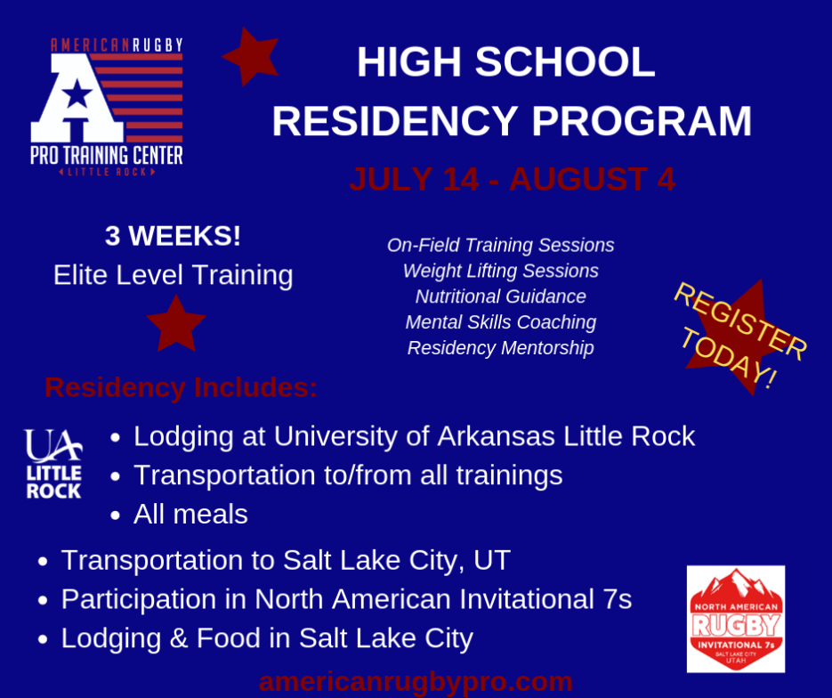 ARPTC High School Rugby Residency