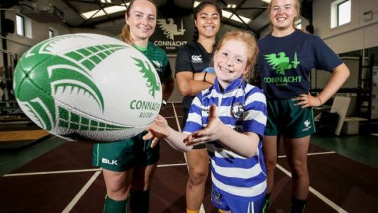 Connacht Rugby announces three-year sponsorship to encourage more young girls to play rugby