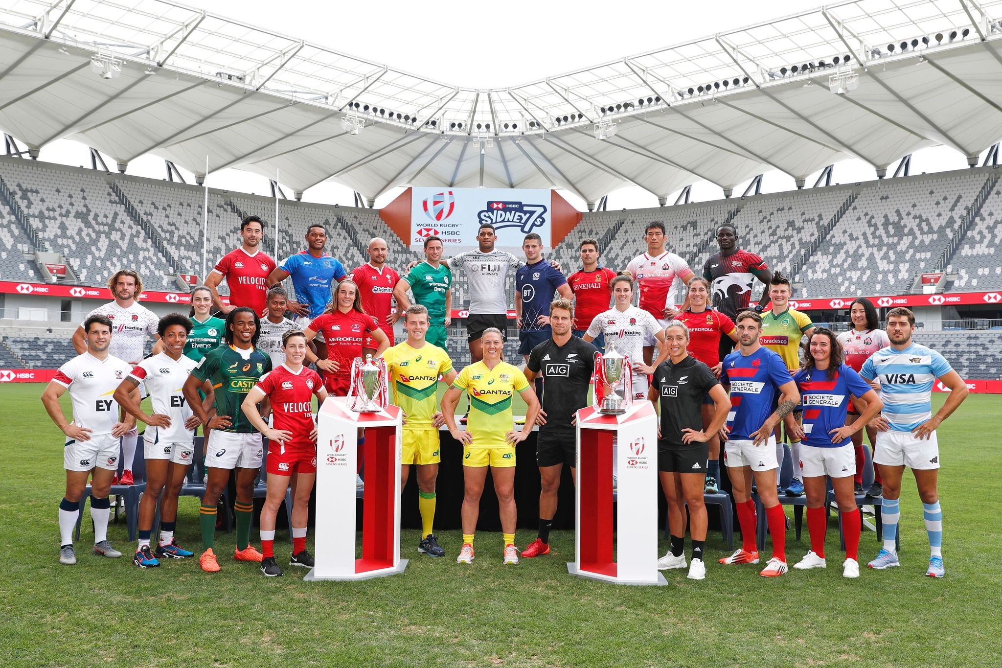 2020 Sydney 7s Captains