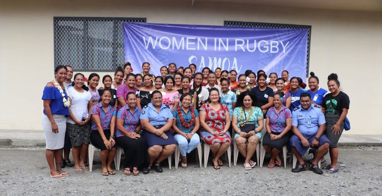 Samoa Women's Rugby Month