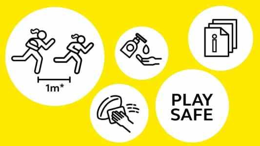 COVID-19 Play Safe image