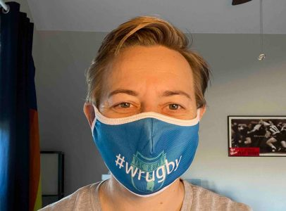 YSCRugby #wrugby Face Mask by Rugby Ninja