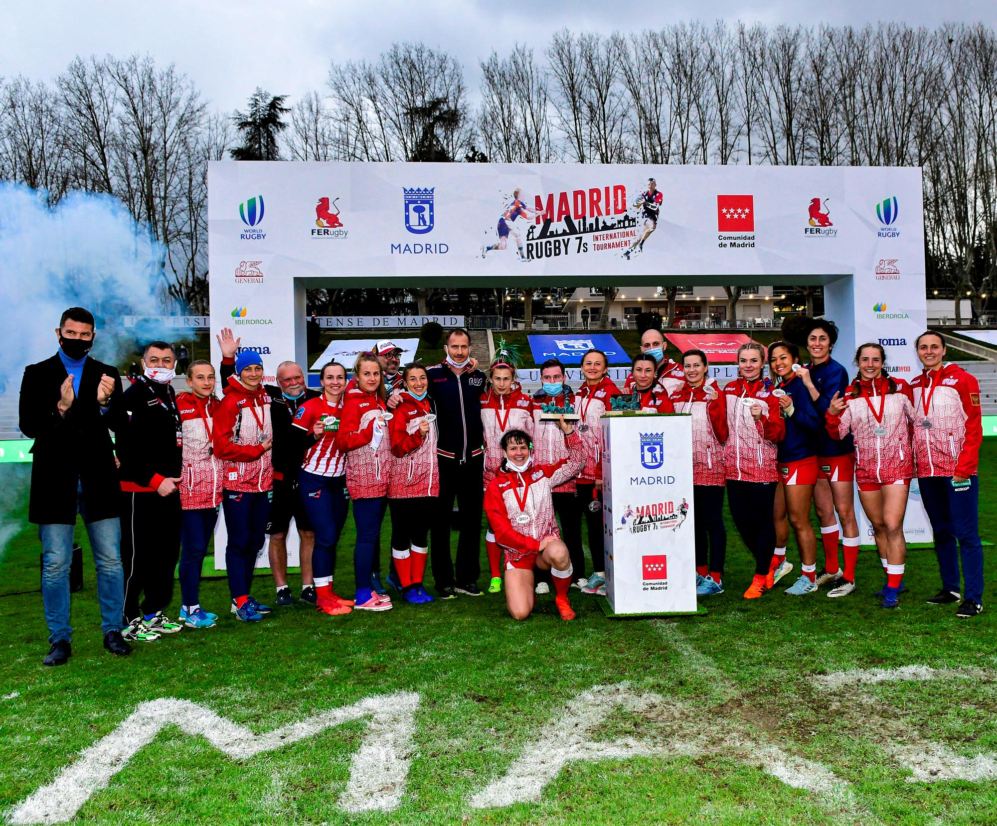 Russia wins the first weekend of 2021 Madrid 7s