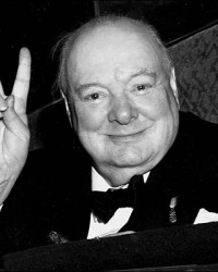 Churchill - V Sign