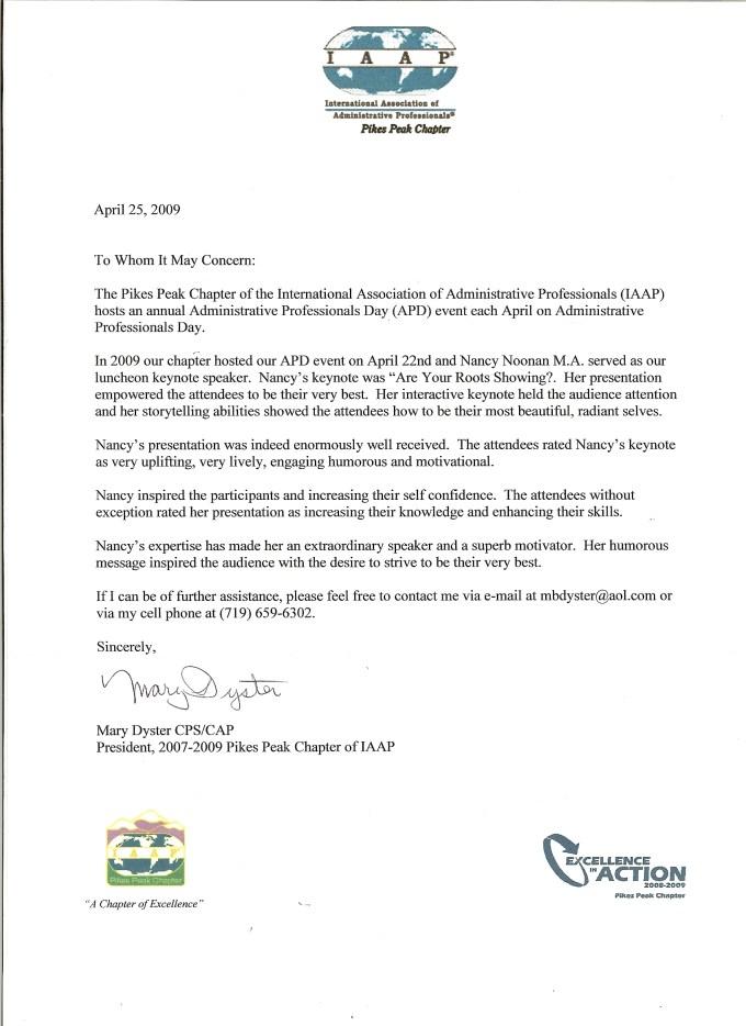 Conference Speaker Invitation Letter