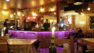 Barrelhouse Bar and Grill, Edinburgh - interior.