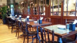 Dishoom Edinburgh interior.