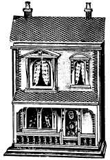 modest doll's house