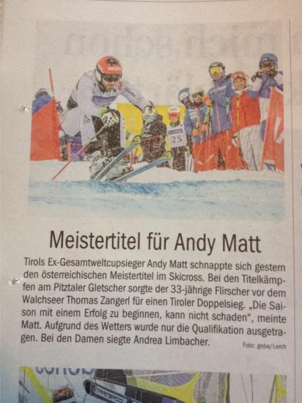 Tiroler Tageszeitung, 22.11.15