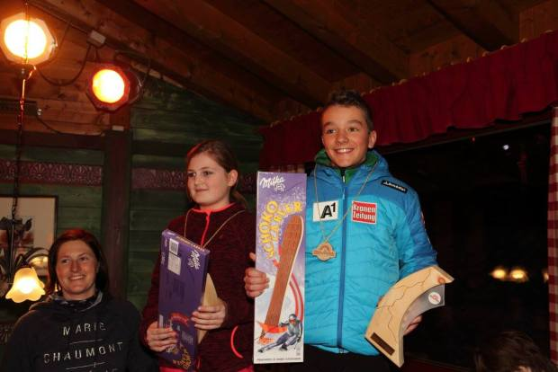Die Kindermeister 2016: Elena Walser und Riccardo Rimml