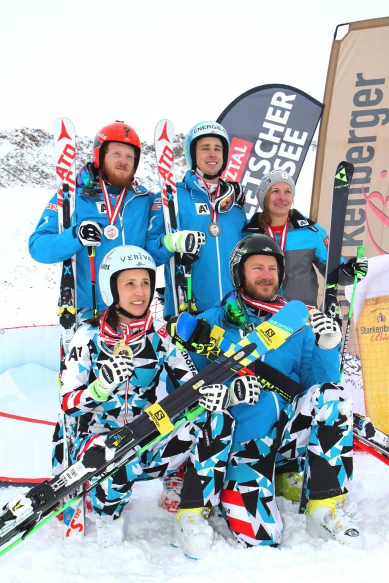 Skicross Pitztaler Gletscher
