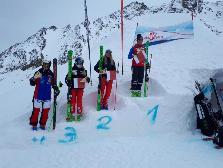 damen-podest-skicross-europacup