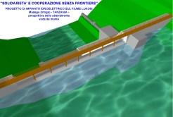 Modello tridimensionale dello sbarramento tracimante sul fiume Lukosi (Iringa - TZ)