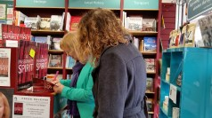 APS & author Sc Skillman signing a copy of the book for a buyer on Sat 13 Feb 2016