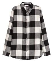 H&M Buffalo Check Flannel Shirt