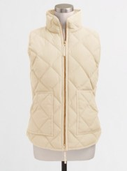 J.Crew Factory Quilted Vest