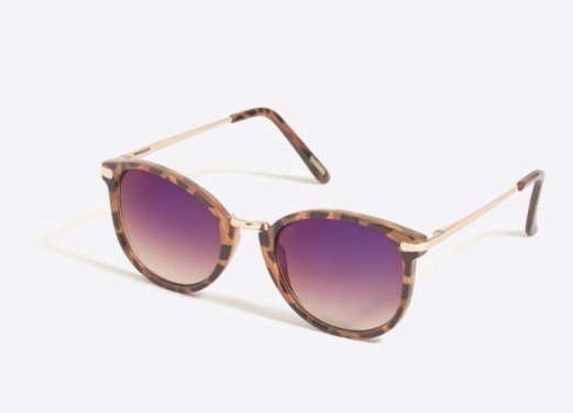 J.Crew Factory Mixed Media Sunglasses