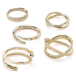 Kendra Scott Robyn Stacking Rings