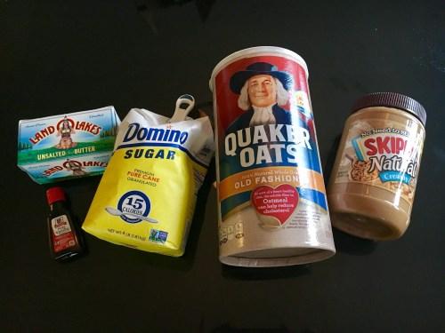 No-Bake Peanut Butter & Protein Oatmeal Cookies - SCs Scoop