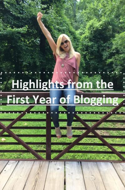 one year of blogging highlights