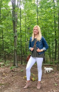 How to Style White Jeans for Fall - most popular blog posts - SCs Scoop