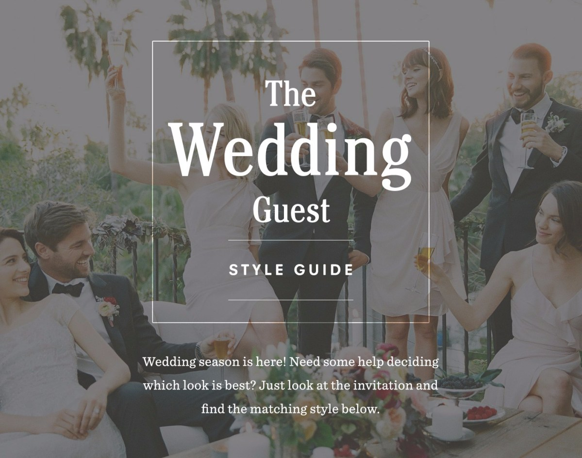 Wedding Guest Outfit Ideas and Style Guide
