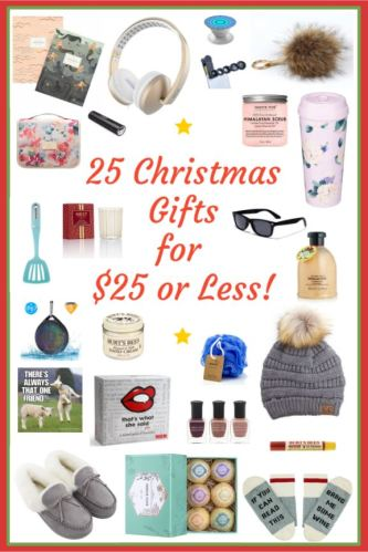 25 Affordable Christmas Gifts and Stocking Stuffer Ideas for $25 or Less