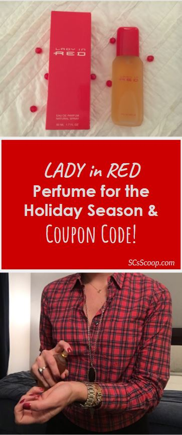 Lady in Red Perfume for the Holiday Season and Coupon Code - SCsScoop