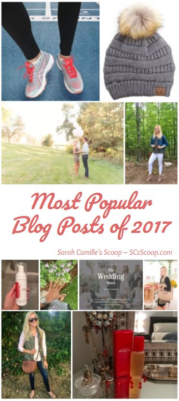 Most Popular Blog Posts of 2017 - Sarah Camille's Scoop - SCsScoop.com