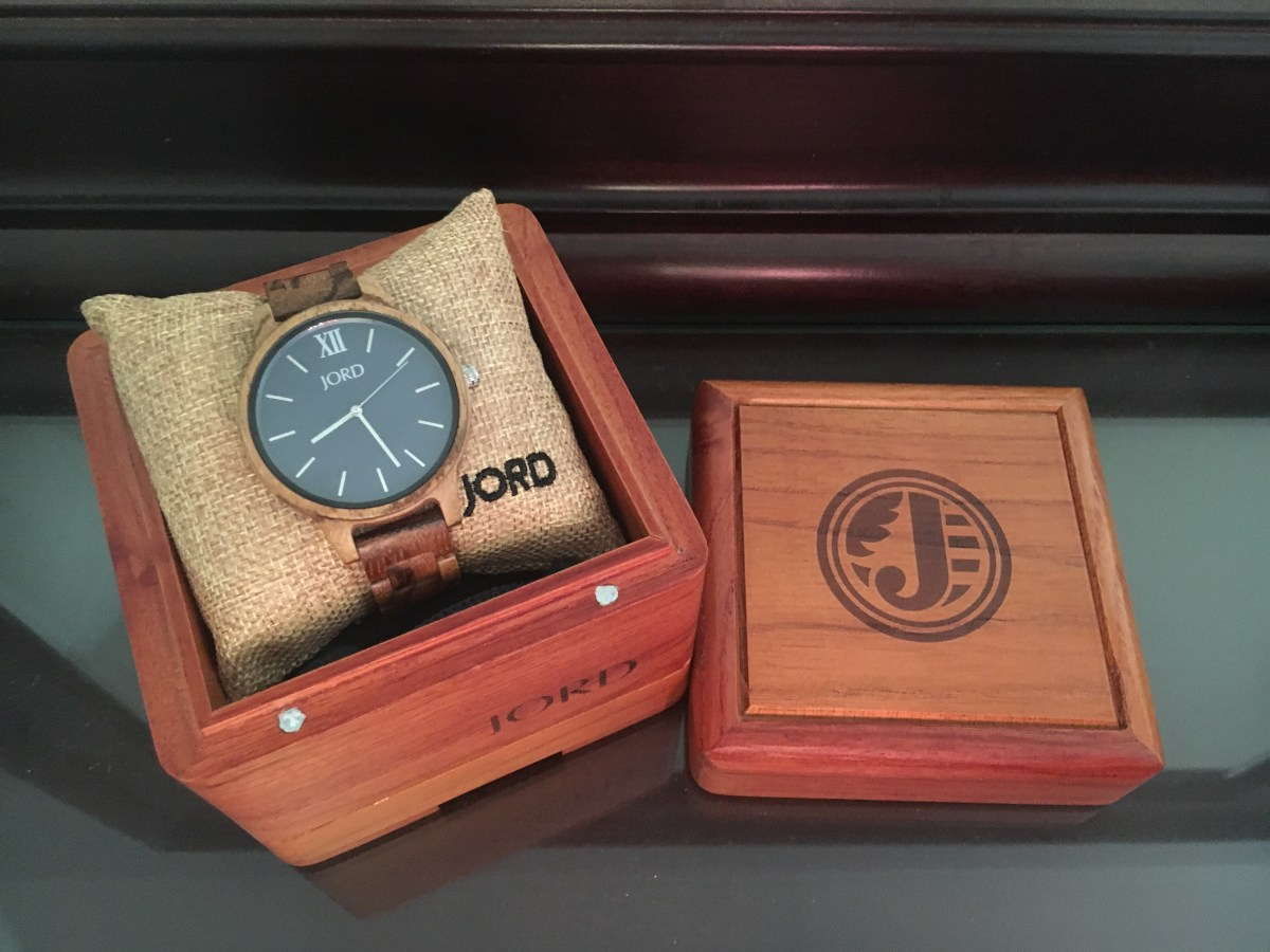 The Unique Valentine's Day Gift for Him an Engraved Wood Watch from Jord Wood Watches - Sarah Camille's Scoop