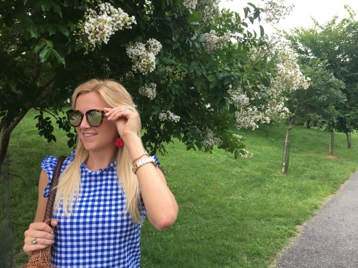 Patriotic Outfit Inspiration: A Red, White & Blue Look - Sarah Camille's Scoop - SCsSCoop.com