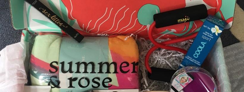 fabfitfun summer box 2018 review - $10 coupon code - scsscoop.com