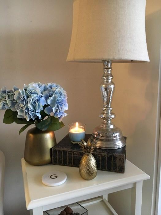 Affordable housewarming gift ideas -brass flower vase - hostess gift idea - SCsScoop.com