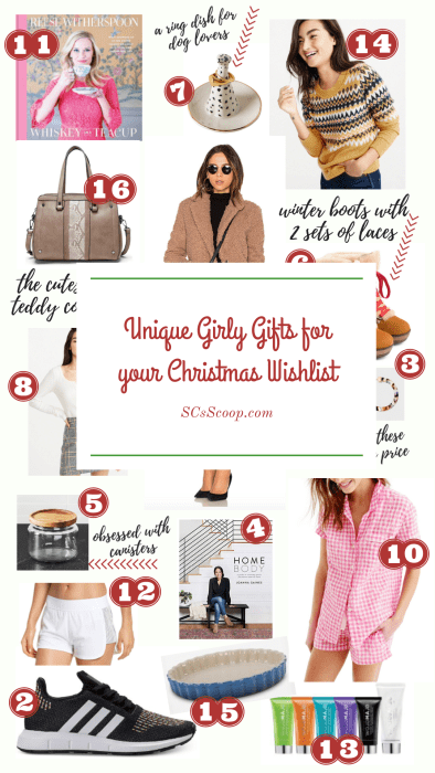 Unique Gifts for your Christmas Whis