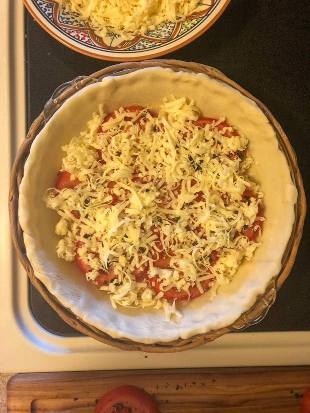 Tasty Tomato Tart Recipe - SCsScoop.com