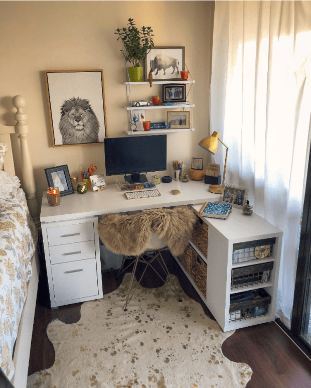 Home Office Reveal - Home Office Inspiration & Organization - Working From Home - SCsScoop.com