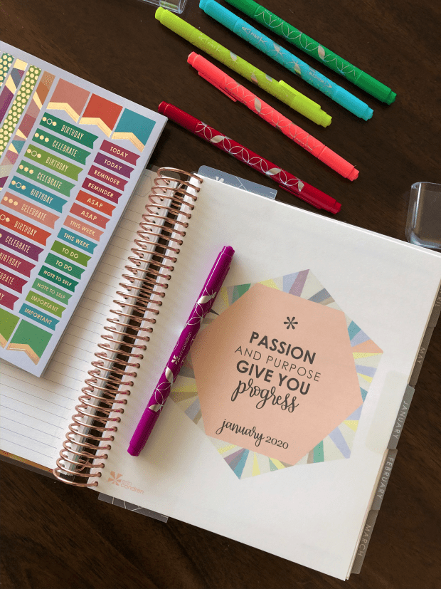 Tips to Make the Most out of Your 2020 Planner - Erin Condren Lifeplanner - organization and goal setting - adulting series - SCsScoop.com