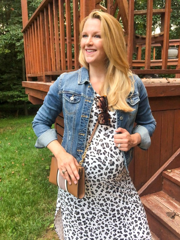 How to Style a Leopard Print Dress for Fall - Affordable Amazon Leopard Dress - SCsScoop.com