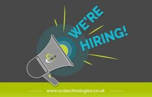 SCS Technologies - we're hiring