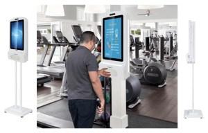 New Hand Sanitising Kiosk Displays | SCS Technologies