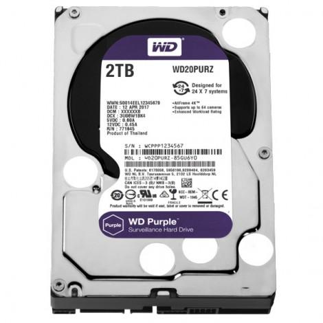 Ổ cứng HDD 2TB WD20PURZ (Purple)