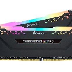 Ram Corsair 16GB (2 x 8GB) C15 Bus 3200Mhz - CMW16GX4M2C3200C16 - Black