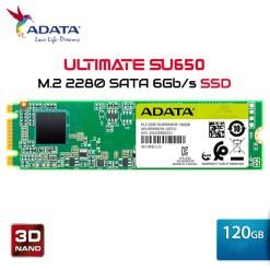 Ổ cứng SSD Adata 120GB M.2 2280 SATA- (SU650NS38-120GT-C)