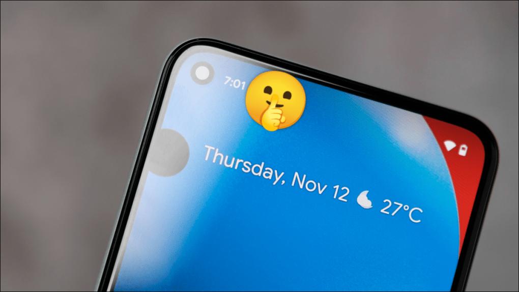 Cách ẩn các biểu tượng thông báo khỏi thanh trạng thái trên Android