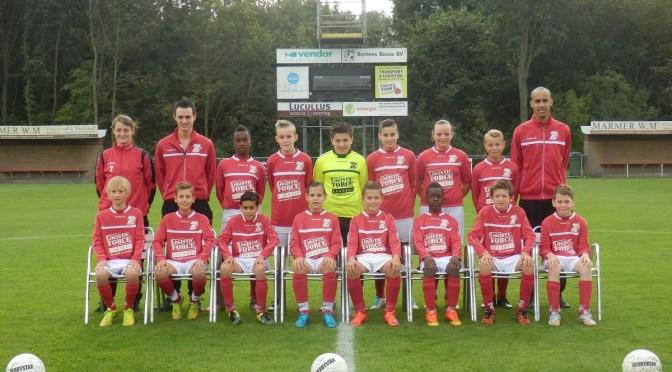 Sc 't Zand D1 plaatst zich voor Provincie Brabant Cup