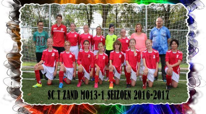 17-09-2016 WSC MO13-2 – Sc 't ZAND MO13-1 (0-2)