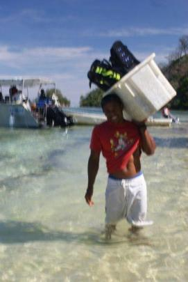 Matava Beach Cleanup Sept 2011