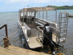 Below Me - Guest transfer and Dive boat